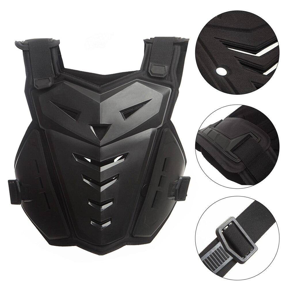 Résistant aux chocs évidée du dos protecteur armure gilet équipement moto équitation poitrine soutien réglable réduire les dommages pratique