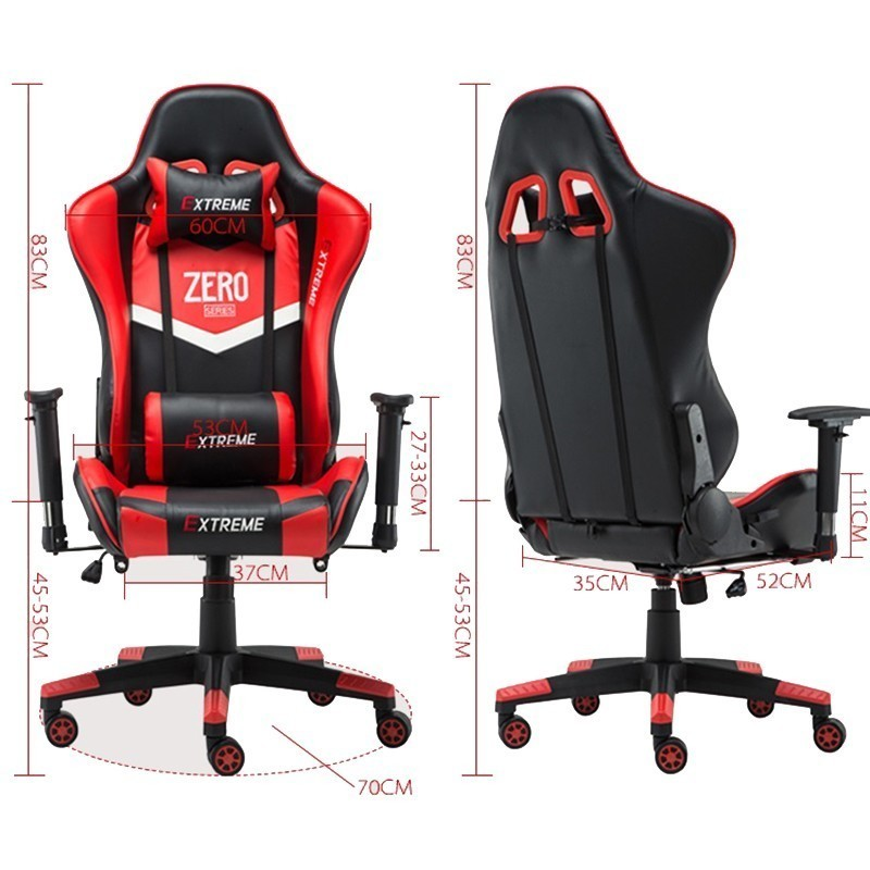 High Quality Poltrona Esports Office Silla Gamer Chair Oversize Ergonomics Synthetic Leather Wheel Massage With Footrest