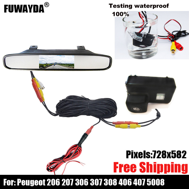 Terrific Color Car Rear View Camera For Peugeot 206 207 306 307 308 406 407 Wiring Digital Resources Funapmognl