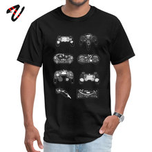 X ray Controller T Shirt Special Crew Neck Casual Linkin Park Sleeve Physics Boy T-shirts Classic Top Free Shipping