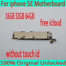16GB 32GB 64GB Original unlocked for iphone 5SE SE font b Motherboard b font without Touch