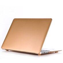 Золотой жесткий чехол с принтом для Apple Macbook Air 11 13 Pro 13 15 retina 12 13 15 для MacBook Air 13 чехол для ноутбука