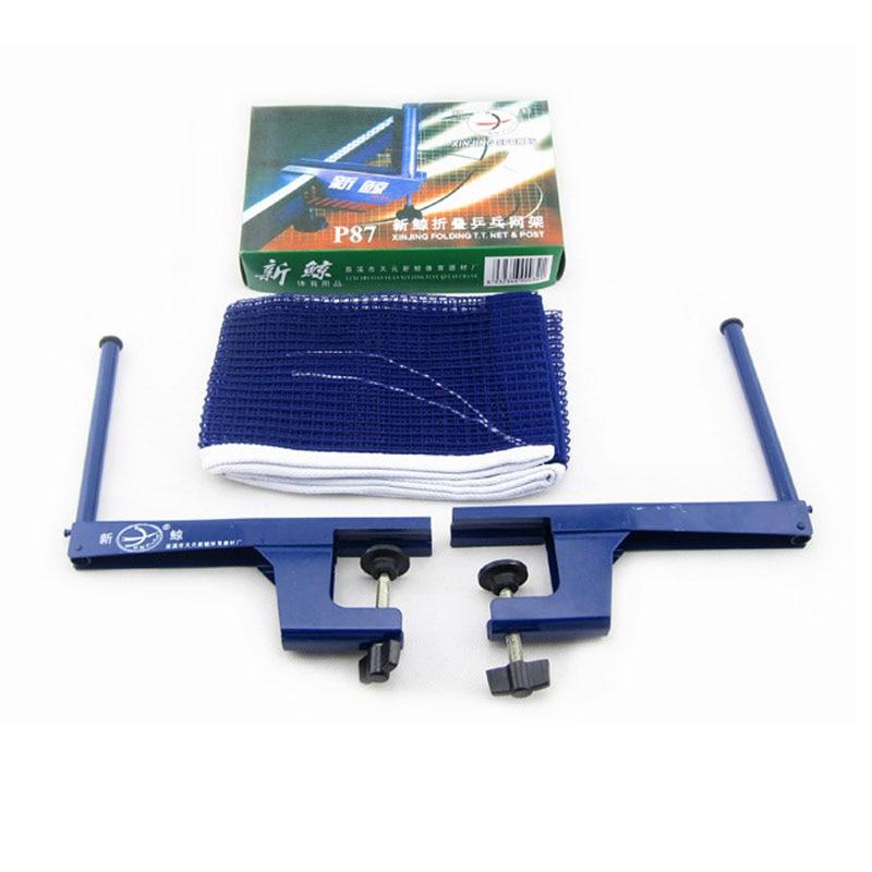 Filet de tennis de Table Portable, support en fer flexible, en acier, pour le sport, vente en gros