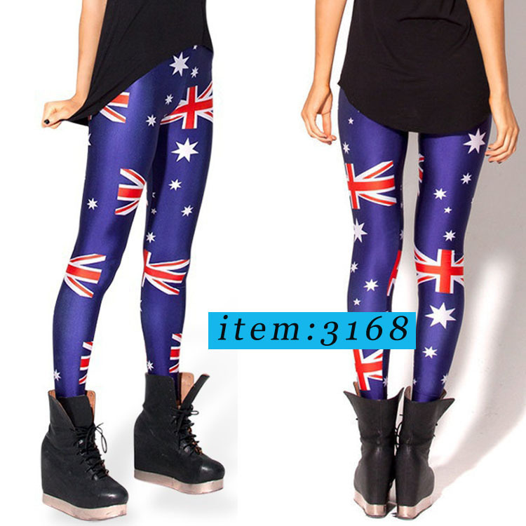 7d18dcad96d96 2014 Fashion Black milk Cross of St Peter White Leggings Sexy Soup Digital  Printed Stretch Pants-in Leggings from Women's Clothing on Aliexpress.com  ...