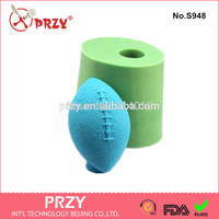 Rugby Handmade Soap Mold Fondant Cake Decoration Mold Soap Mold 100 Food Grade Raw Material Jelly