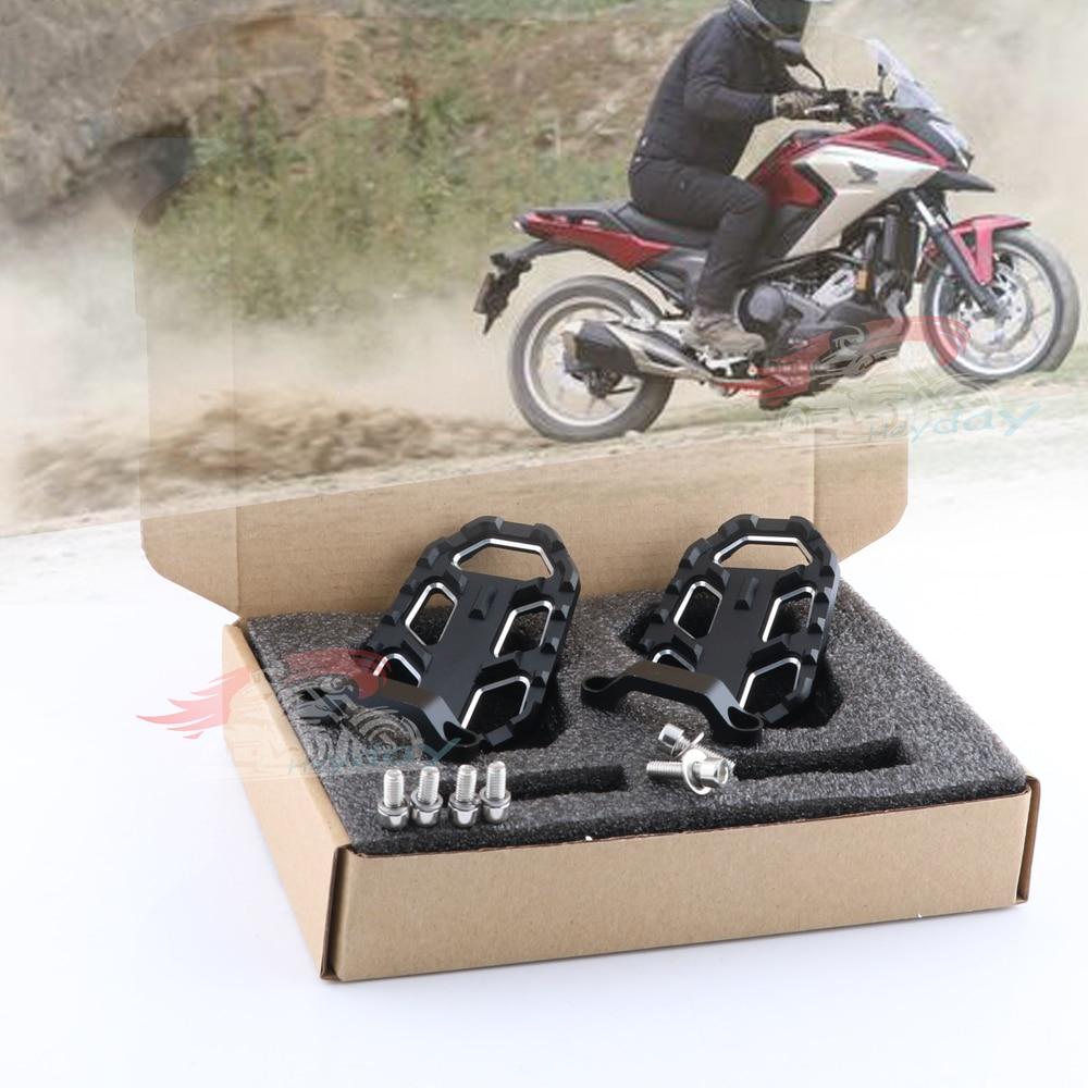 For Honda NC700X NC700S 2012-2014 &NC750X NC750S 2014-2018 &CB500X 2015 2016 CNC Aluminum Motorbike Foot Pegs Footpegs Footrests
