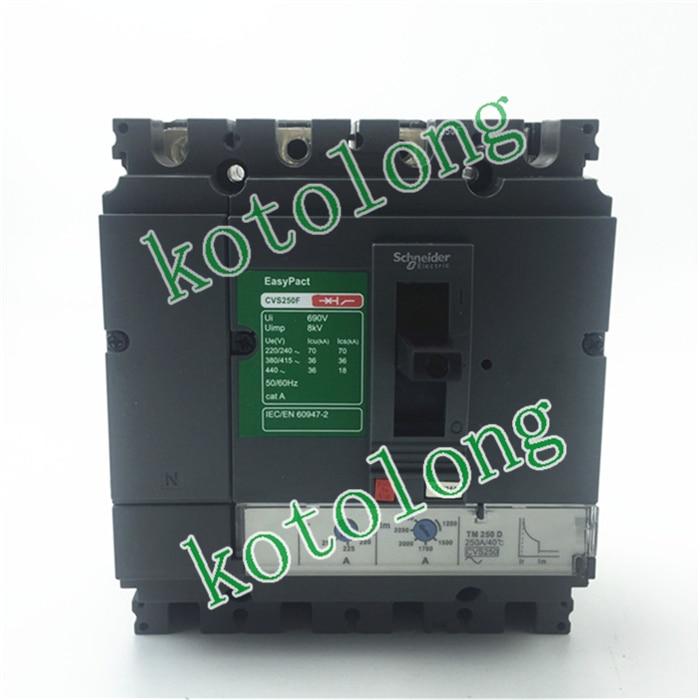 EasyPact CVS250B TMD 4P LV525321 4P-160A LV525322 4P-200A LV525323 4P-250A easypact cvs250f tmd 4p lv525341 4p 160a lv525342 4p 200a lv525343 4p 250a