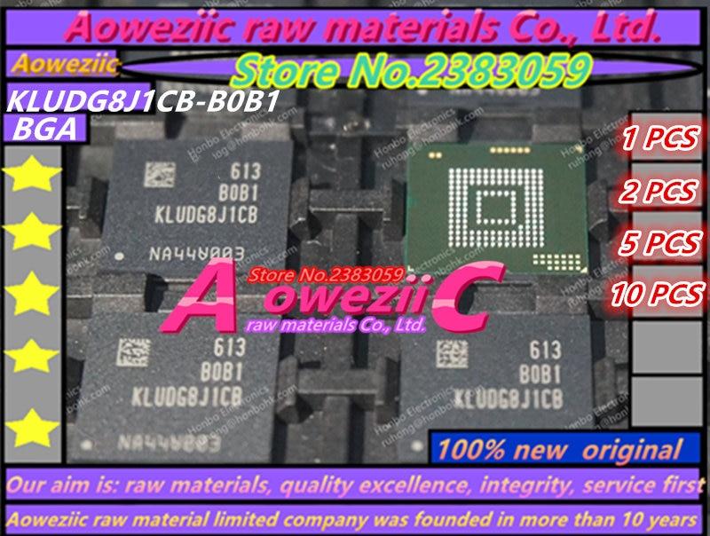 Aoweziic 2017+ (1PCS) (2PCS) (5PCS) (10PCS) 100% new original KLUDG8J1CB-B0B1 BGA memory card chip 128G 1pcs 2pcs 5pcs 10pcs 100