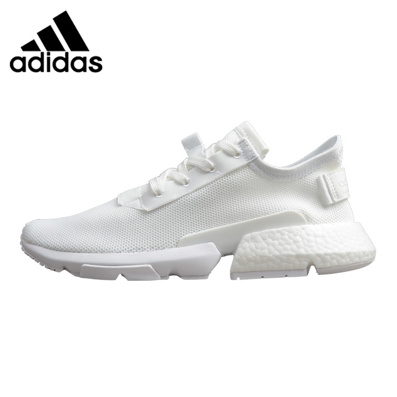 купить Adidas Originals POD-S3.1 Boost Men's Running Shoes, White / Grey, Shock-absorbing Lightweight Breathable B37610 B37452 по цене 6554.28 рублей