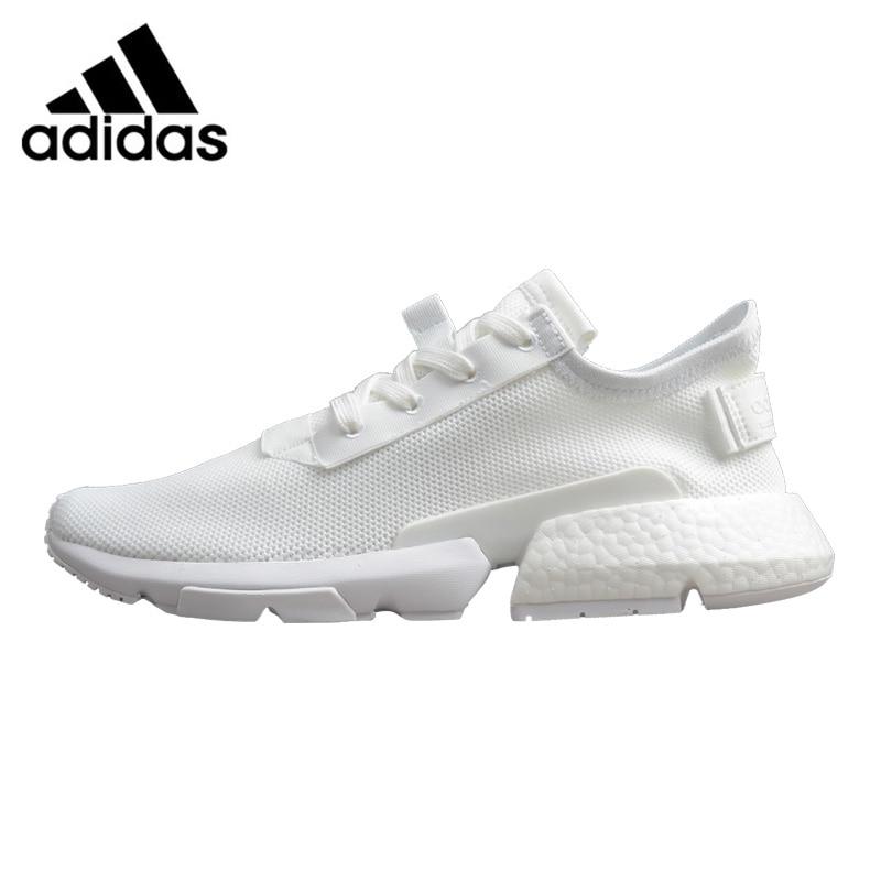 Adidas Originals POD-S3.1 Boost Men's Running Shoes, White / Grey, Shock-absorbing Lightweight Breathable B37610 B37452 water absorbing oil absorbing cleaning cloth