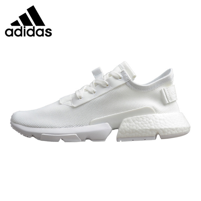 new style a4650 cd2cc Adidas Originals POD-S3.1 Boost Mens Running Shoes, White  Grey,  Shock-absorbing Lightweight Breathable B37610 B37452