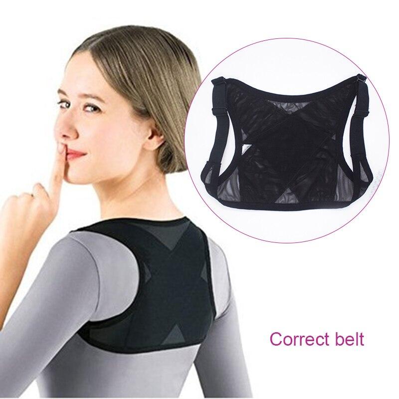 Back Posture Corrector for Women Shoulder Support Breathable Vest Adjustable Brace Belt Dropshipping 5