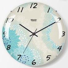 Creative Art Wall Clock Modern Fashion Home Living Room Bedroomwall Charts Mute Calendar Quartz Decor 50Q136