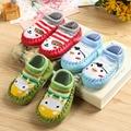 Ребенок пола носки весной и осенью детские носки детские носки мягкий лодыжки носок скольжению 100% хлопок малыша обувь платформа