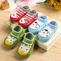 Child floor socks spring and autumn baby socks baby socks padded ankle sock slip-resistant 100% cotton toddler shoes platform