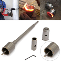6pcs 30 40 50mm Coated Hole Saw Tile Drill Bit Hole Metal Cutter For Carrelage Brick