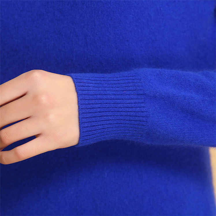 2019 가을 겨울 캐시미어 스웨터 여성 풀오버 높은 칼라 터틀넥 스웨터 여성 솔리드 컬러 레이디 기본 스웨터