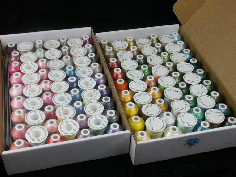 Simthread 120 Colors Computer Machine Stickgarn 100% Trilobal - Kunst, Handwerk und Nähen - Foto 4