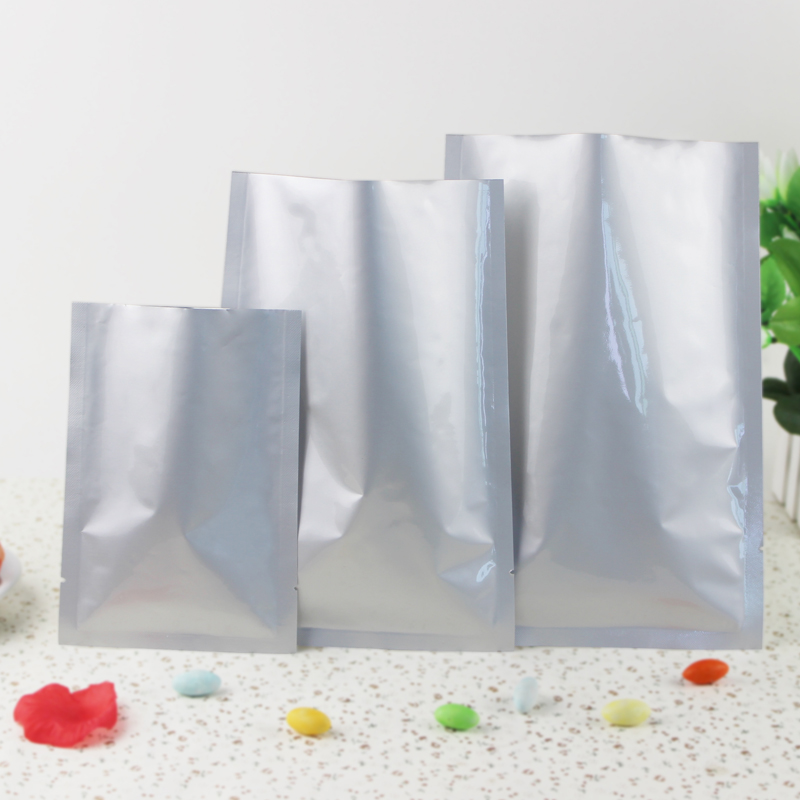 50pcs Lots 11 8 19 6 30cm 50cm 200micron High Quality Pure Aluminum Foil Bags Food Packaging Bag Rice Wholer In Saran Wrap Plastic From