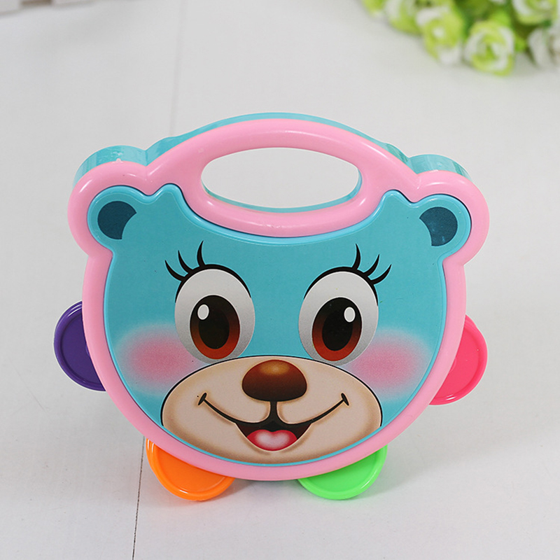 New baby cartoon flapping beat beat childrens educational toys random color