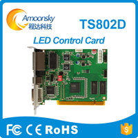 Amoonsky Hot Selling Linsn Ts802d Led Sending Card Hdmi Video Sender 1024 Dmx Controller Led Control
