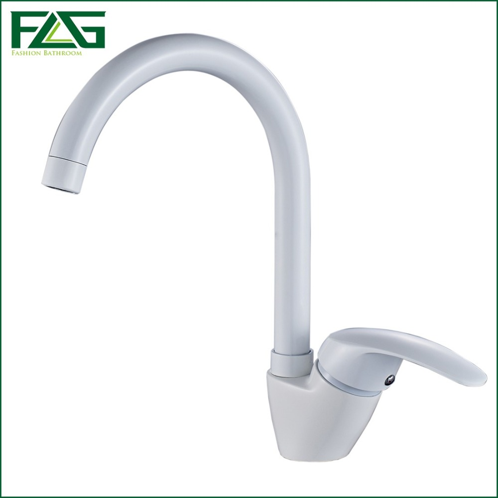 White Kitchen Taps: Popular White Kitchen Faucets-Buy Cheap White Kitchen