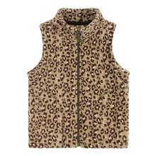 New arrival children's clothing vest baby girls polar fleece fabric vest stripe child zipper-up thermal vest free shipping