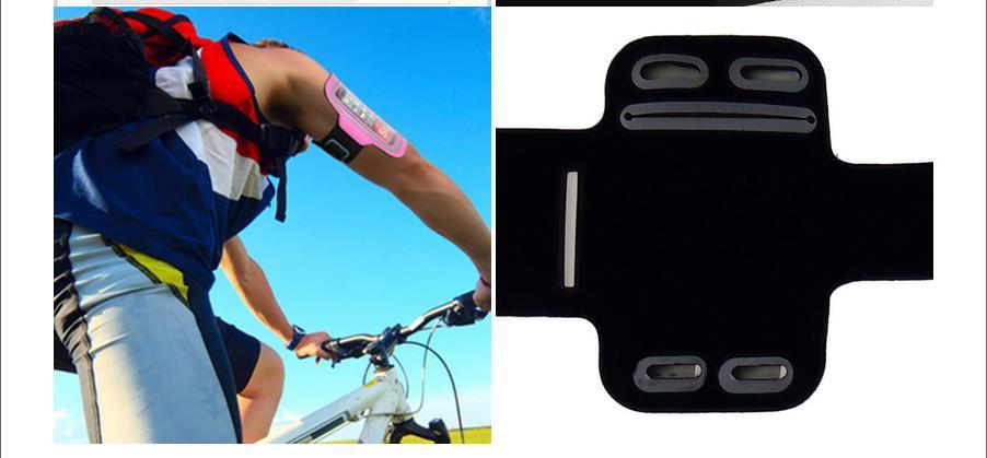 Llegada de alta calidad multicolor deportes correr trotar gimnasio - Accesorios y repuestos para celulares - foto 5