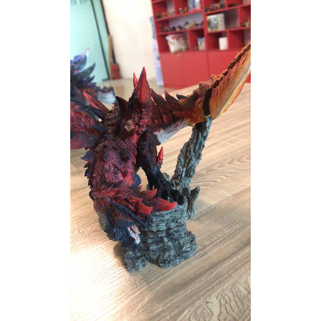 Monster Hunter World Handmade Original Genuine CFB Monster Hunter X Dragon Different Colors Collection Decoration Gifts 1