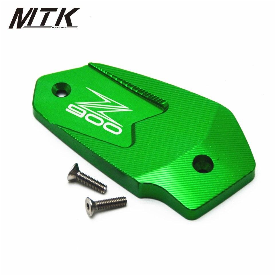 MTKRACING Motorcycle Accessories Motorbike  For Kawasaki Z900 2017  Brake Fluid Tank Cap Cover  Z 900 2017