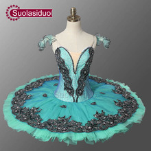 Adult Girls Professional Ballet Tutus Sugar Plum Fairy Nutcraker Classical Tutu Skirt Stage Costume For Women