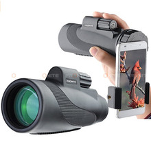 Monocular 40X50 BAK4 Prism Waterproof Catalejo Telescope Professional Spotting Scope Big Eyepiece Turizm night vision monocular