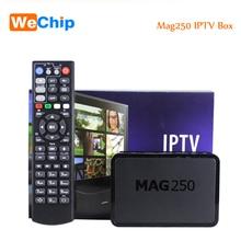 [Wechip] Meilleur Linux Mag250 IPTV Set Top Box Tv Support Wifi usb Connecteur Câble Pas Comprennent iptv compte OTT Tv Box