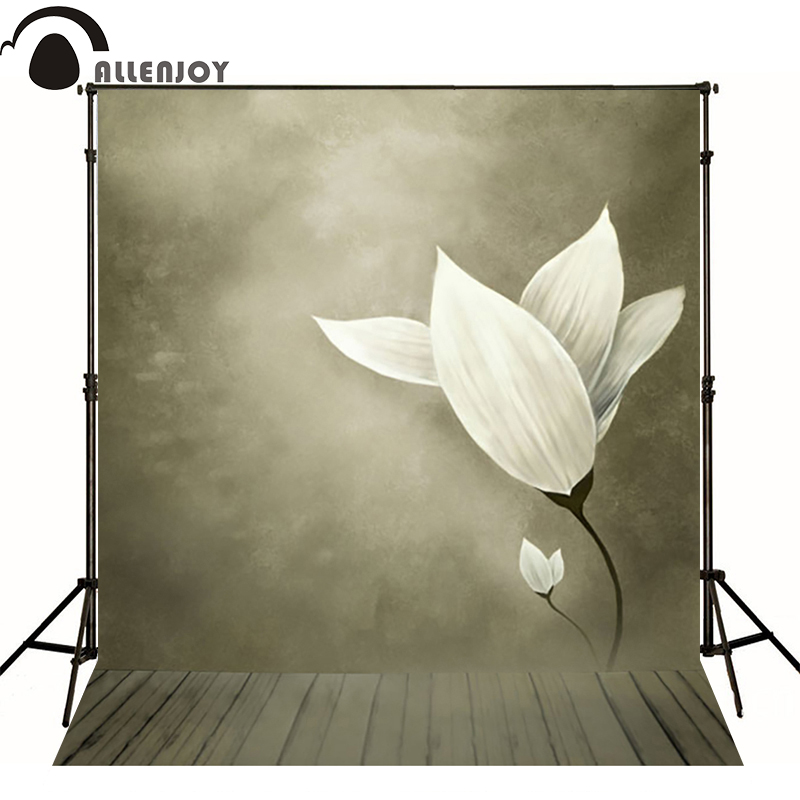 10*6.5feet(300*200CM) Photography Backdrops Flowers and quiet dark fundo fotografico vinil Free Shipping new arrival background fundo antique wall flowers 7 feet length with 5 feet width backgrounds lk 2916