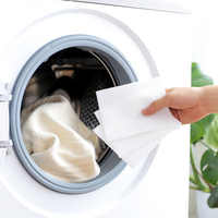 24Pcs Dyeing cloth Washing Machine Use Mixed Dyeing Proof Color Absorption Sheet Anti dyed Cloth Laundry Papers Color Grabber