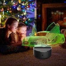 3d Визуальный Ночной светильник новинка акриловый светодиодный