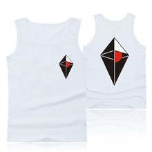 Hot Sale NO MAN'S SKY Print Cotton Tank Top Men Sleeveless Shirt and Plus Size Cartoon Bodybuilding Summer Vests