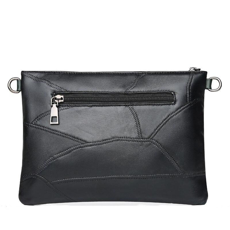 Gykaeo Genuine Leather Small Shoulder Bag Female 2018 Winter Chain Rivet Evening Clutch Envelopes Bags for Women Messenger Bag 4
