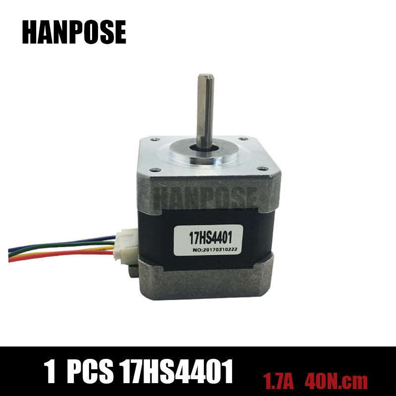 Free shipping 1pcs 4 lead nema17 stepper motor 42 motor for Nema 17 stepper motor datasheet