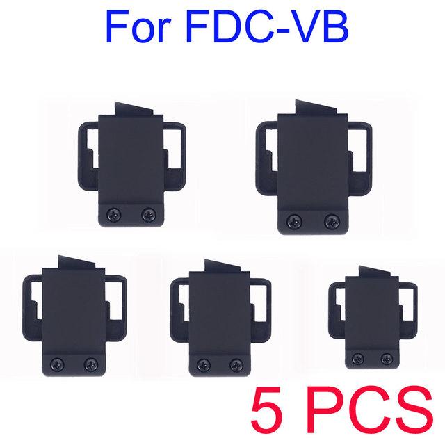 5 PCS suporte / monte acessório para FDC-VB BT Intercom Motorcycle Helmet Interphone Intercom fones de ouvido