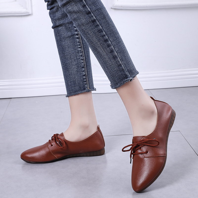 2019 New Arrival Women Flats Shoes Pointed Toe Shallow Flats Fashion Spring Autumn Women Shoes Loafers Casual Soft Zapatos Mujer 6