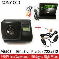 Car Parking HD CCD Night Vision Car Backup Car Rear View Camera Car Mirror Monitor For