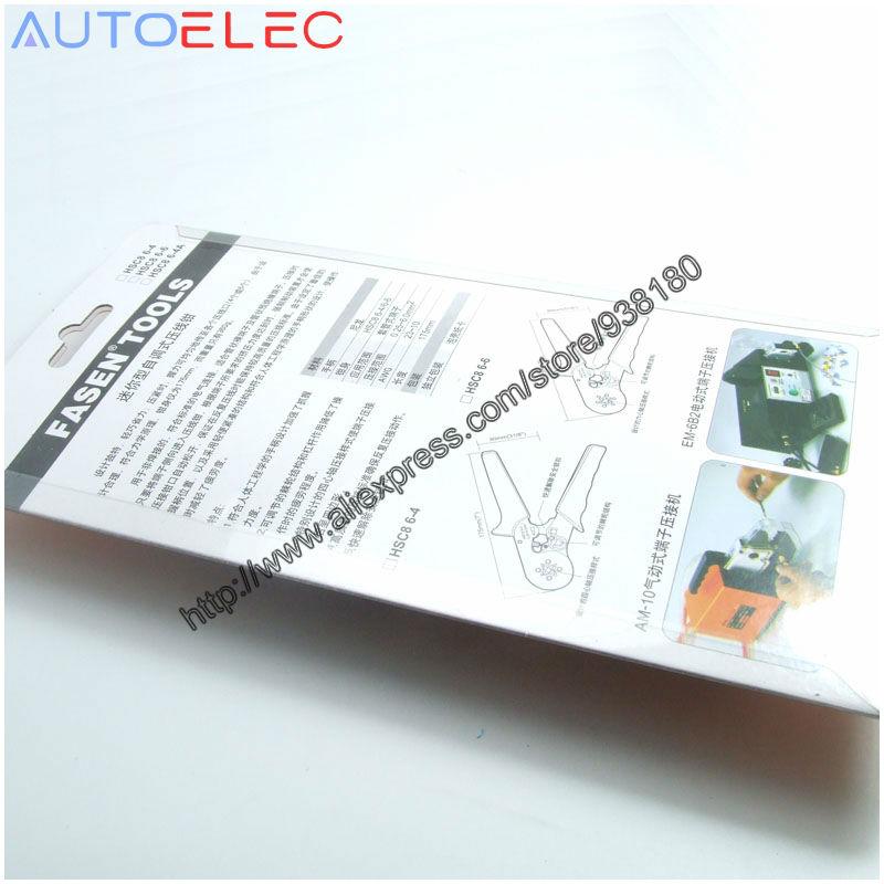 HSC8 6 4B selbst einstellbarer crimpen 0,25 6mm2 AWG24 10 Ferrule ...