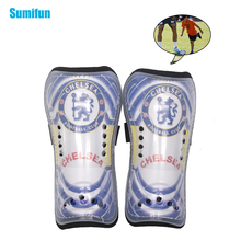 Children Sport Protector New Ultralight Soft Soccer Shin Open Soccer Guard Kids Protective Kneepad Sports Safety Z757