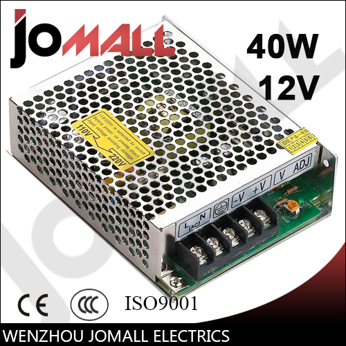 40w <font><b>12v</b></font> <font><b>3.5a</b></font> Single Output <font><b>12v</b></font> switching <font><b>power</b></font> <font><b>supply</b></font> image