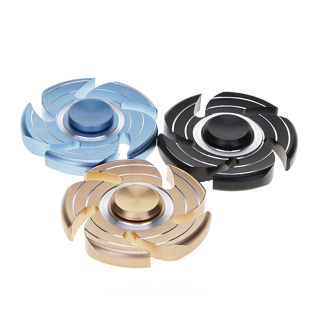 Tornado Fidget Hand Finger Spinner EDC Focus Toy Speed Bearing For Kids Adults