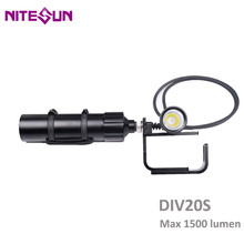 NITESUN DIV20S Diving Spotlight CREE XHP35 LED max 1500LM un
