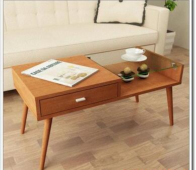 Toughened glass small tea table, simple small table toughened glass small tea table phone sofa the round table