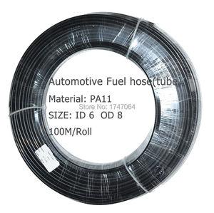 Image 2 - 6mm * 8mm * 10 metros ID6 PA11 tubo especial automotriz de nylon para tubería de combustible