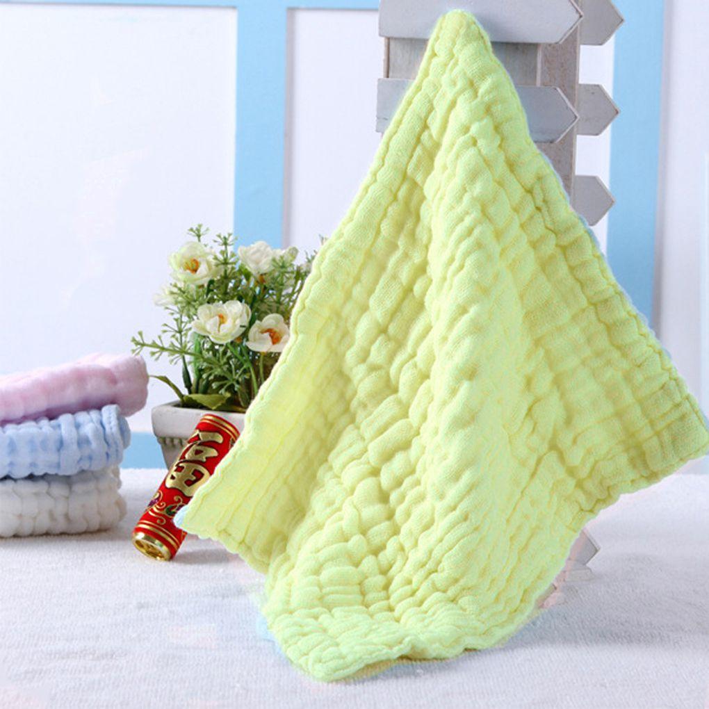 28 * 28cm Baby Infant Bath Towel Washcloths Bathing Feeding Wipes Cloth Baby Wash Cloth Soft for Newborn Kids Baby Care Nursing